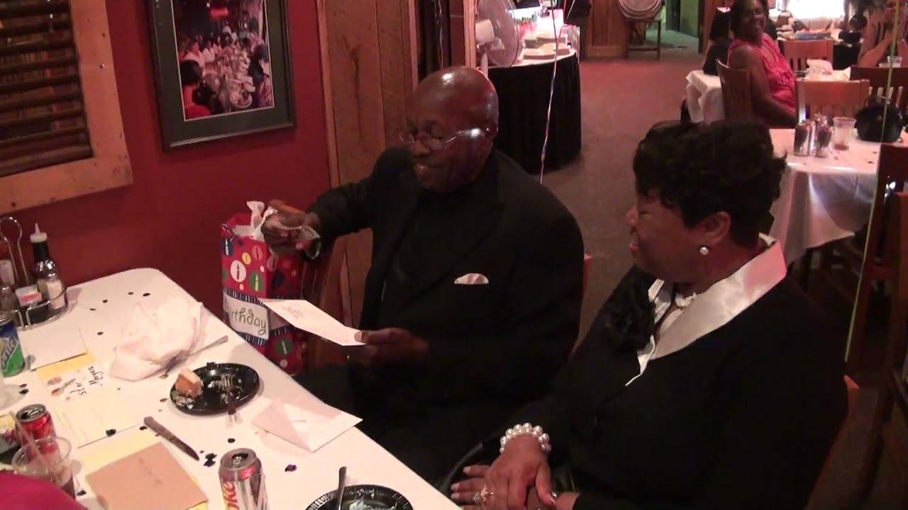Pastor Morgan s Birthday Party