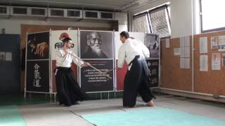 6 no jo awase 2  jo-jo [TUTORIAL] Aikido advanced weapon technique: