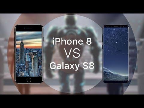 Сравниваем IPhone 8 и Galaxy S8