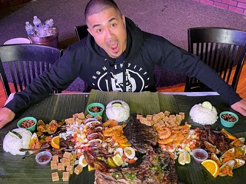 MASSIVE FILIPINO FOOD