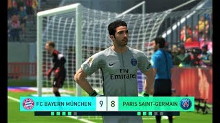 BAYERN MUNCHEN vs PSG   Penalty Shootout 2018   PES 2018 Gameplay HD