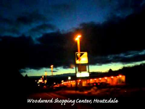 Night Drive, From Philipsburg to Fernwood