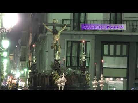 Salida del Stmo. Cristo de la Buena Muerte (Via Crucis Diocesano Cádiz 2018)