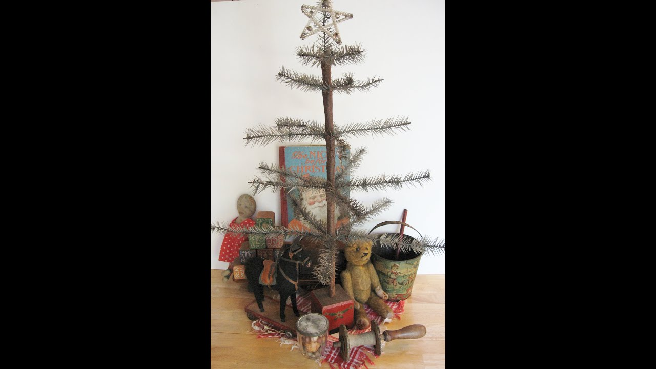 Christmas Antique Primitives Home Decor Decorating Ideas - YouTube