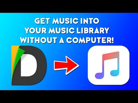 How To Get .mp3 Files Into Your Music Library Without A Computer (Jailbreak Required)