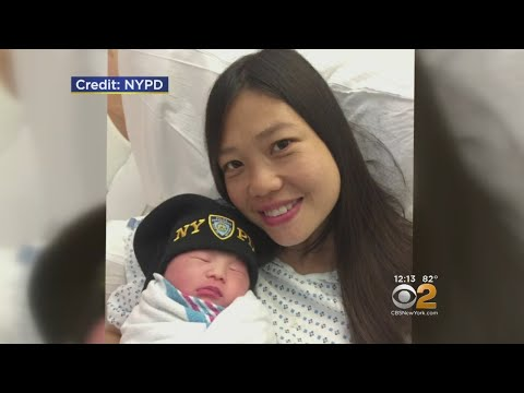Widow & New Mom: 'Her Father Was A Hero'