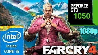 Far Cry 4  On GTX 1050 | Custom & All Settings | 1080p Test