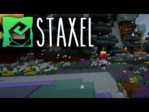 STAXEL 🐓 WINTER und ENDE • Let's Play Staxel [25]