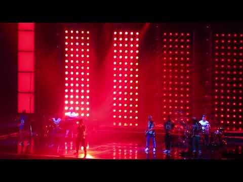 Bruno Mars Performing 'Perm' Prudential Center In Newark, NJ 10/2/2018