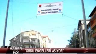 ORDU ENGELLERİ AŞIYOR