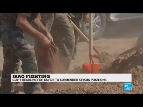 Iraq: Clashes between Army, Kurdish forces as govt troops advance on Kirkuk