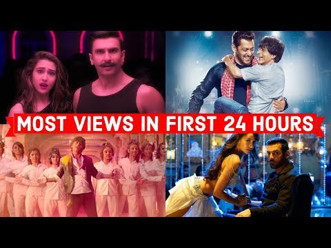 Top 20 Most Viewed Indian/Bollywood Songs in First 24 Hours | Hindi, Punjabi Songs