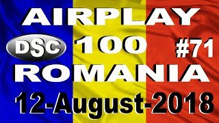 Romanian Top 100 Airplay August 12, 2018 #71