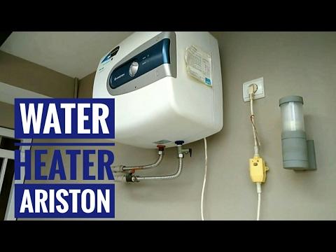 water heater ariston (pengalaman 2 tahun penggunaan) - YouTube