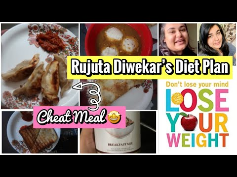 DAY - 2 : Trying RUJUTA DIWEKAR'S  DIET PLAN for Weight Loss(Cheat Meal) / Weight Loss Journey