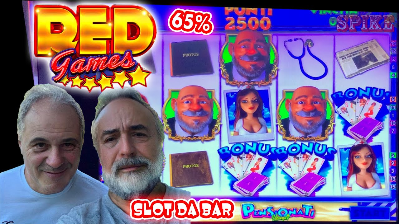 SLOT MACHINE da BAR - Scopriamo la RED GAMES al 65%