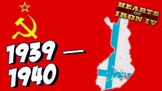 Hearts of Iron IV - Советско-Финская война - Прохождение за СССР -  (День Победы 4) #3