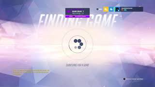 Overwatch gold comp  playing  dps