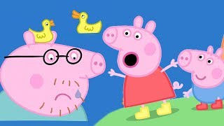 Peppa Pig Full Episodes | The Biggest Muddy Puddle In The World | Cartoons for Children