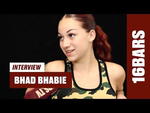 Bhad Bhabie on being underage, Trippie Redd, YBN Nahmir & XXXTentacions funeral (16BARS.TV)