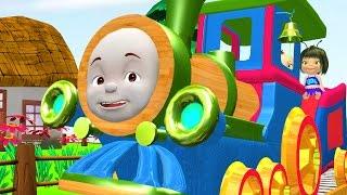 เพลงรถไฟ สุขสันต์  พี่น้องรถไฟ - การ์ตูนรถไฟ