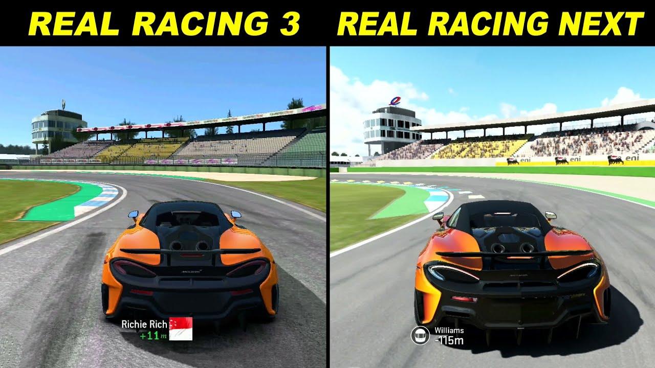 Real Racing 3 vs Real Racing Next @ Hockenheimring - Ray Gamer
