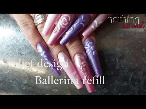 relief design refill ballerina   nothing but nails
