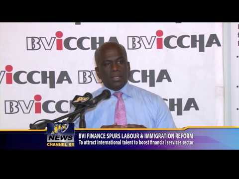 BVI Finance Spur labour And Immigration Reform