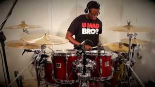 "Mary Mary - ""Get Up"" drum cover"