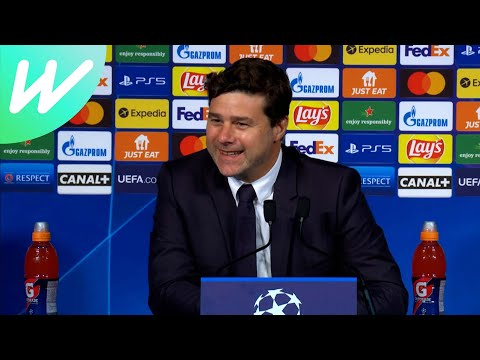 Pochettino hails Messi and Mbappe following PSG's 3-2 win over Leipzig | PSG vs RB Leipzig | UCL