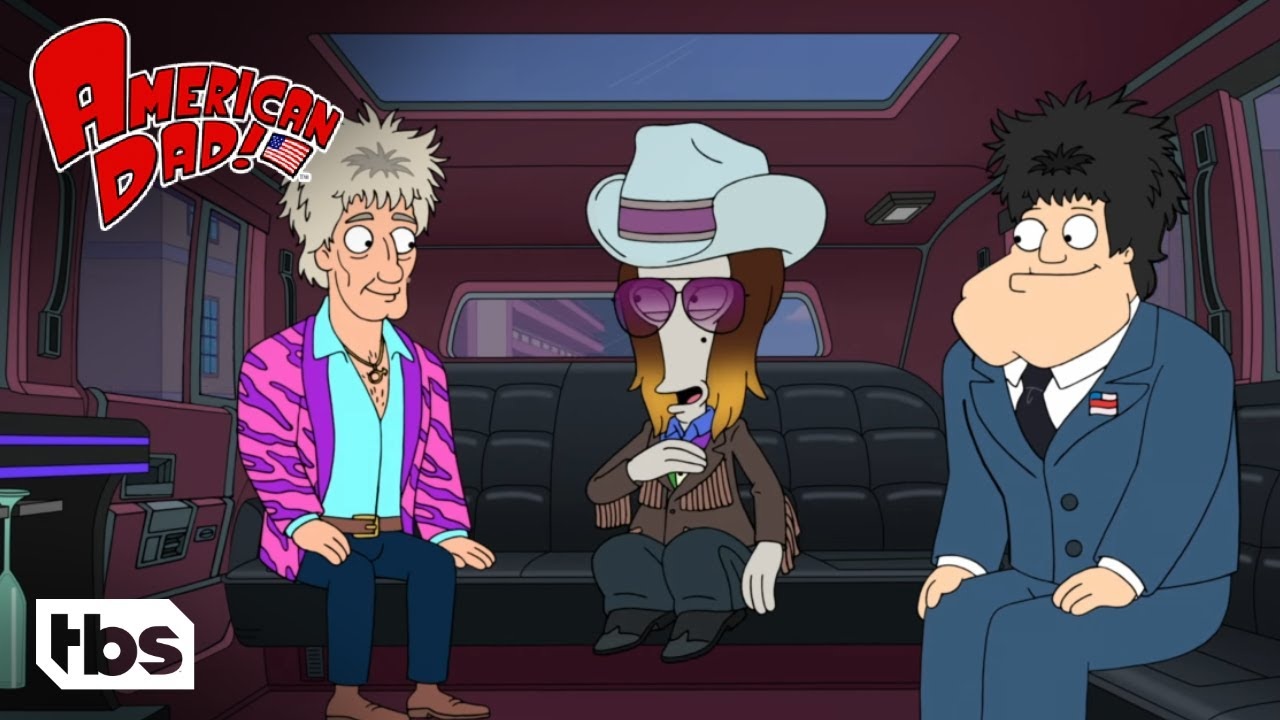 American Dad: Rod Stewart Gets Kidnapped (Clip) | TBS