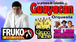 GRUPO NICHE, GUAYACAN ORQUESTA, THE LATIN BROTHERS, FRUKO