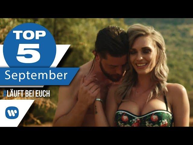 MUSIK CHARTS 2018 IM SEPTEMBER – Die besten Musikvideos I #LäuftBeiEuch