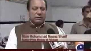 Nawaz Sharif and Hadiqa Kiyani 18th August 2011 Capital Talk - Part 3