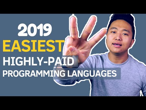 Top 3 EASIEST and HIGHLY-PAID Programming Languages to Learn in 2019