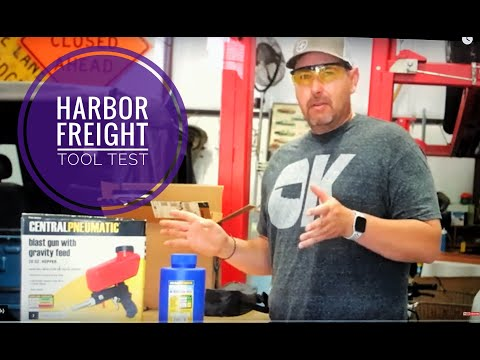 Tool Test: Harbor Freight Blast Gun With Gravity Feed