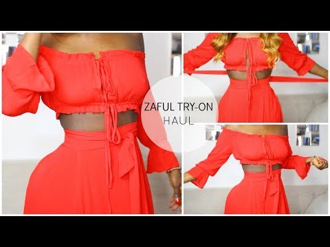 SUMMER 2017   SLIM THICK SUMMER  ZAFUL CLOTHING TRY ON HAUL   JENEEVALOVE