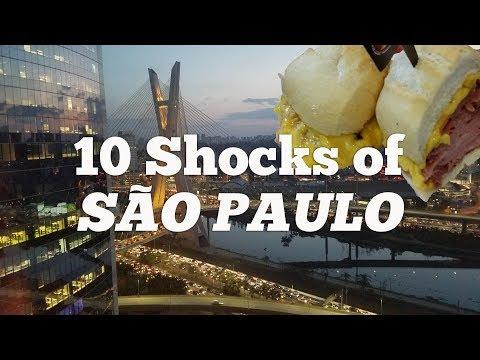 São Paulo - 10 Things That Shock Tourists about São Paulo, Brazil