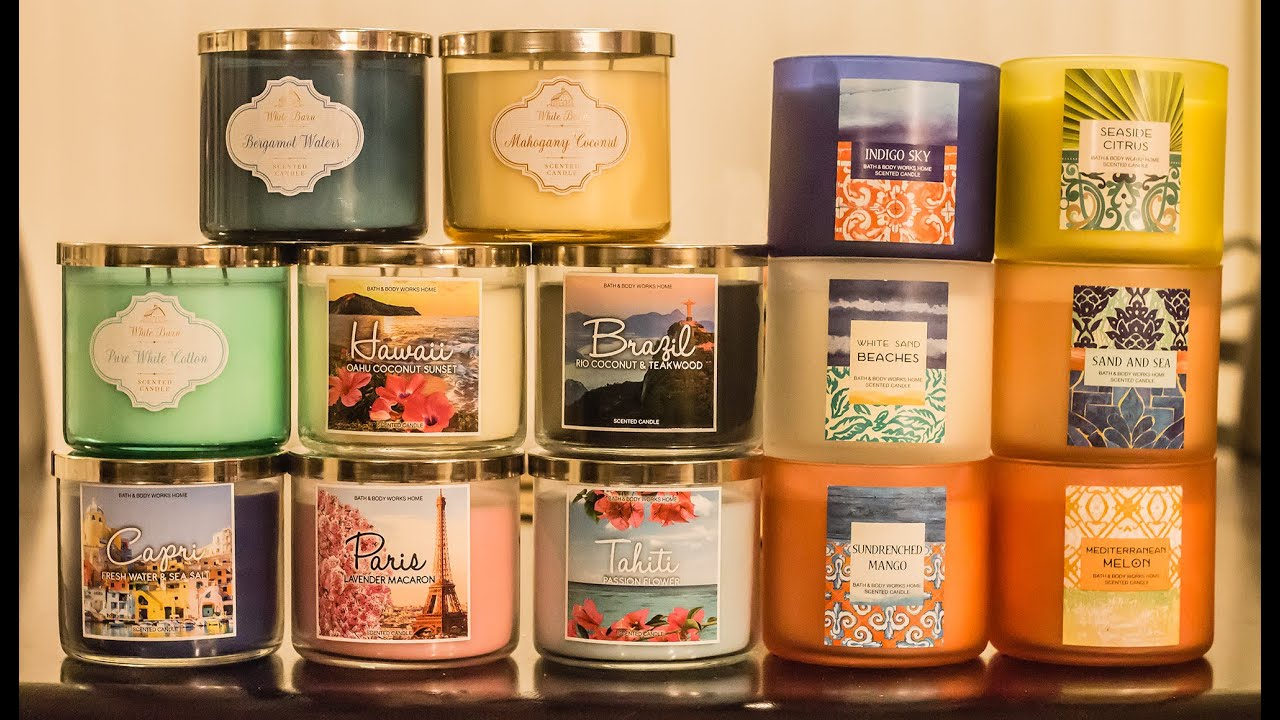 christmas candle bath and body works ile ilgili görsel sonucu