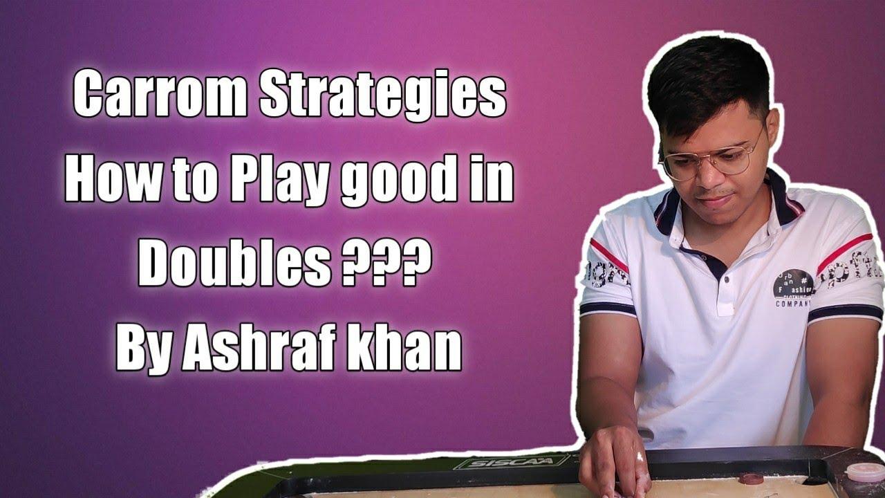 Apne Partner ke sath carrom achha kaise khele? | How To Play Doubles in Carrom | Carrom Strategies |