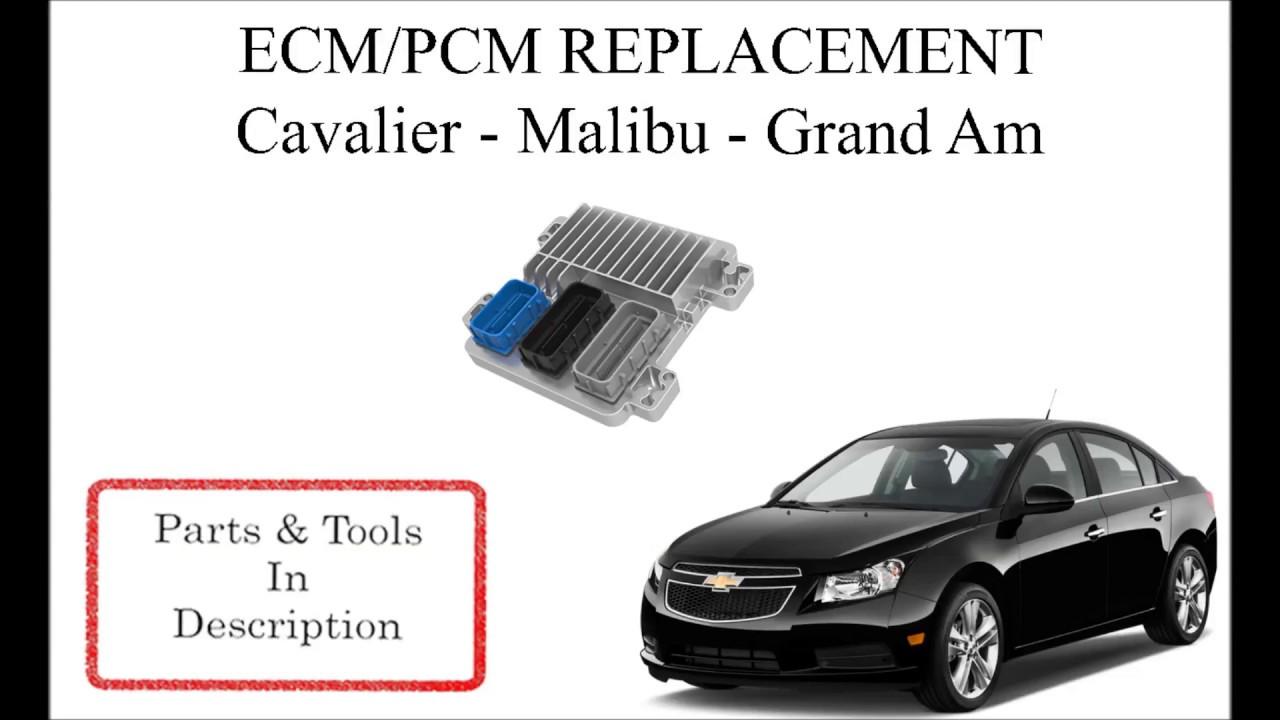 ECM / PCM Replacement  Malibu, Cavalier, Grand Am