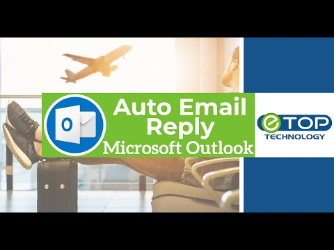 🌞Microsoft Outlook 2016 Out Of Office/Vacation Auto Email Reply