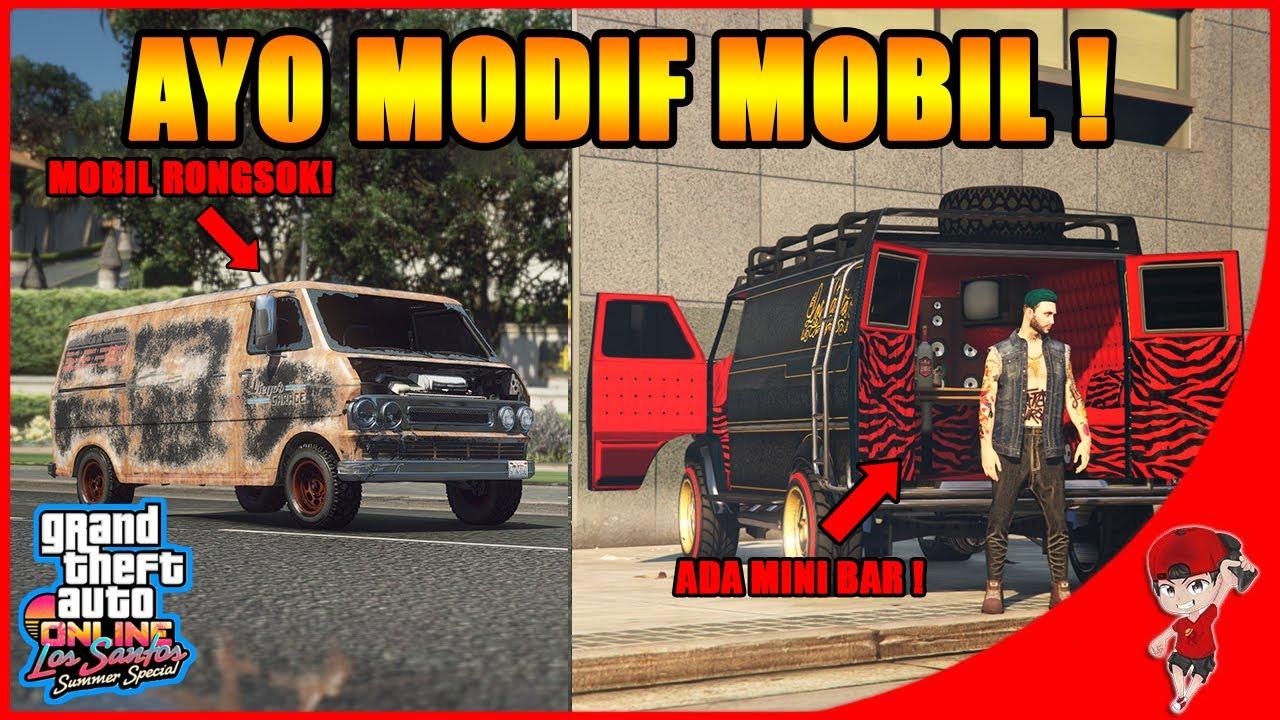 DARI MOBIL RONGSOK JADI BEGINI !! - GTA 5 ONLINE Summer Special