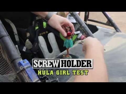 SCREW HOLDER Off-Road Hula Girl Test - Did She Drop The Screw?