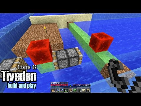 Minecraft Build & Play - Tiveden #32 - Ocean Muncher (Guardian Farm Build Part 2)
