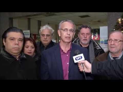 Επίσκεψη αντιπροσωπείας του ΣΥΡΙΖΑ την παραμονή Πρωτοχρονιάς στους εργαζόμενους της ΣΤΑΣΥ