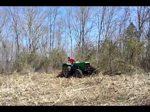 Hook up bush hog
