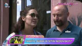 Berguzar Korel - Halit Ergenc 16/09/2015 in Cihangir