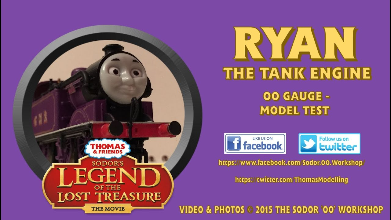 Ryan The Tank Engine OO Gauge Test YouTube