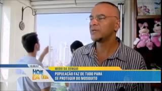 Reportagem com Alumintelas tela mosquiteira - TV Record  - Dengue